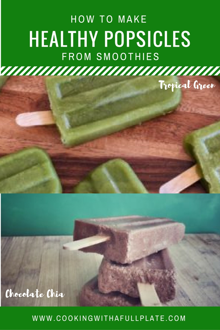 Make healthy treats with no extra work by freezing your smoothies in popsicle molds. These make great treats for kid and parents alike. Click through to read more about how to make nutritious, naturally sweet popsicles easily!