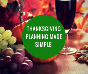 Thanksgiving Planning Simplified