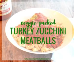 Turkey Zucchini Meatballs Recipe