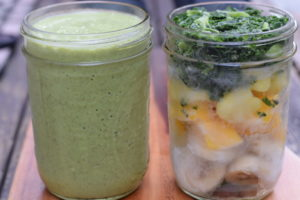 Make Ahead Green Smoothie Packs for Fast & Healthy Breakfasts