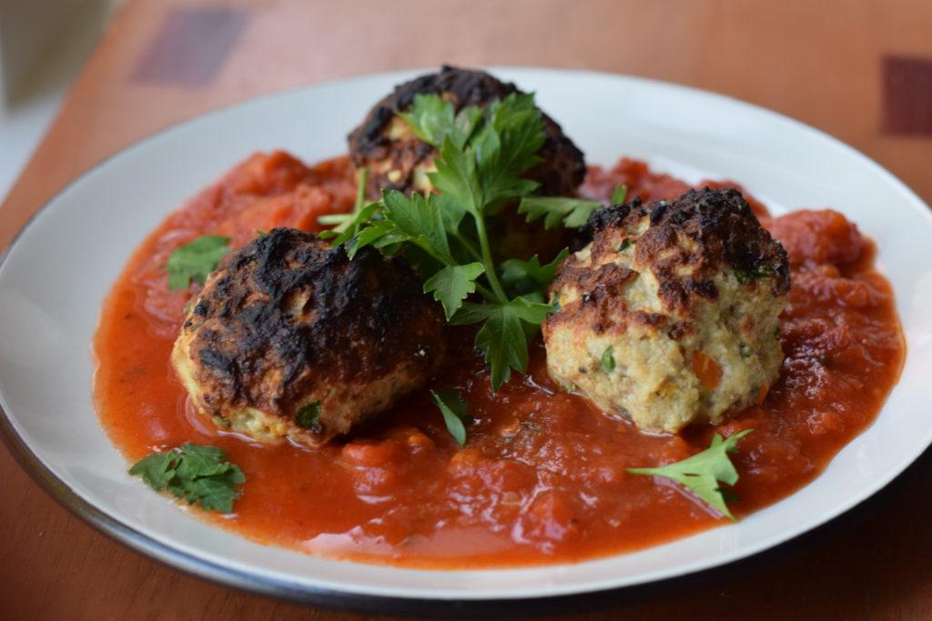 Veggie-Packed Turkey Meatballs
