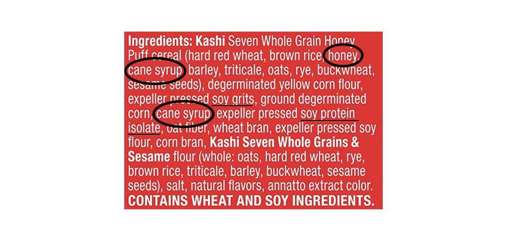 Kashi Ingredient List