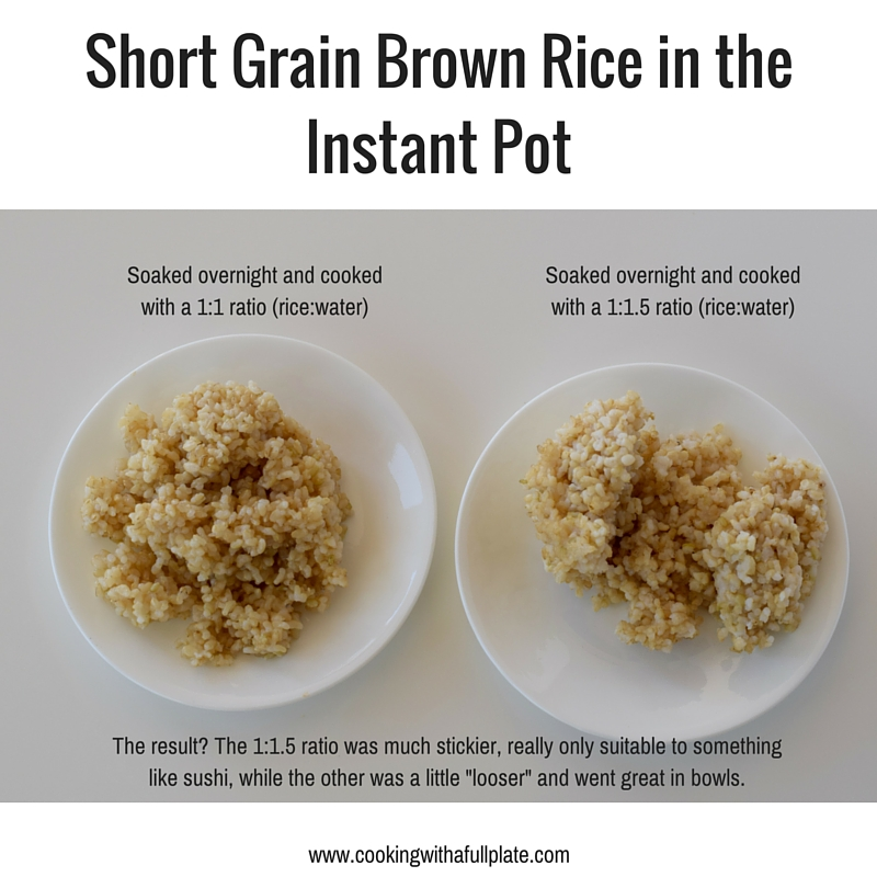 How to Cook Soaked Brown Rice in your Instant Pot ...